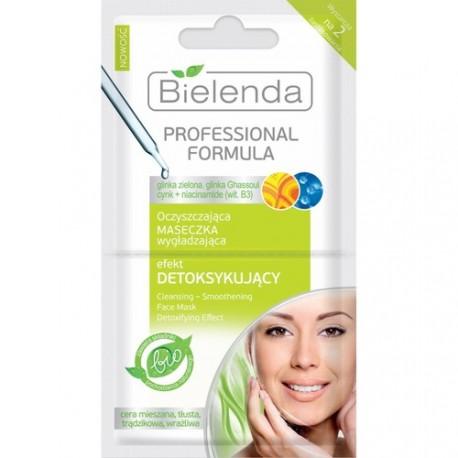 Professional Formula - Oczyszczająca maseczka wygładzająca, efekt detoksykujący, poj. 2 x 5 g.
