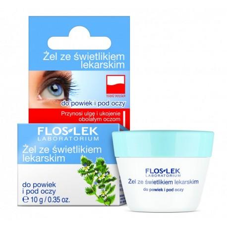 Żel ze świetlikiem lekarskim do powiek i pod oczy, poj. 10 g.