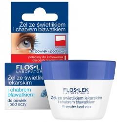 Żel ze świetlikiem lekarskim i chabrem (bławatkiem) do powiek i pod oczy, poj. 10 g.