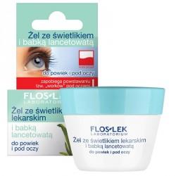 Żel ze świetlikiem lekarskim i babką lancetowatą do powiek i pod oczy, poj. 10 g.