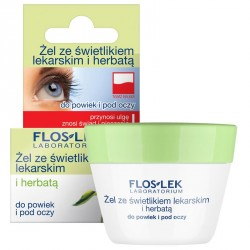 Żel ze świetlikiem lekarskim i herbatą do powiek i pod oczy, poj. 10 g.