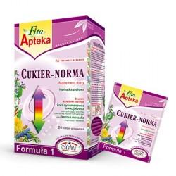 CUKIER-NORMA Formuła 1 - 20 torebek w kopertach aluminiowych po 2 g