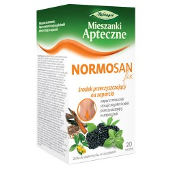 NORMOSAN fix - środek przeczyszczający na zaparcia, poj. 20 saszetek x 1,4 g