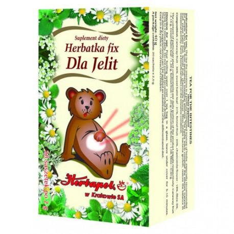 Herbatka Fix - Dla Jelit, poj. 20 saszetek x 2 g