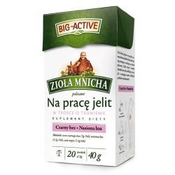 Zioła Mnicha polecane na prace jelit, poj. 20 saszetek x 2 g