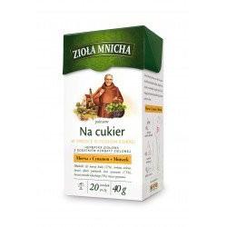 Zioła Mnicha na cukier, poj. 20 saszetek x 2 g