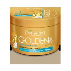 GOLDEN OILS - Ultra nawilżające masło do ciała z drogocennymi olejkami, poj. 200 ml.