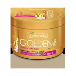 GOLDEN OILS - Ultra odżywcze masło do ciała z drogocennymi olejkami, poj. 200 ml.