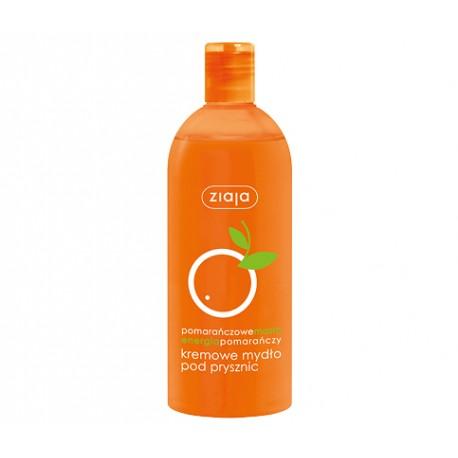 Pomarańczowa - kremowe mydło pod prysznic, poj. 500 ml.