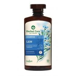 Herbal Care - Szampon lniany, poj. 330 ml.