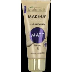 MAKE-UP ACADEMIE Fluid matujący MATT odcień beżowy, poj. 30 g.