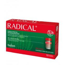 RADICAL - Kuracja przeciw wypadaniu włosów, poj. 15 x 5 ml.