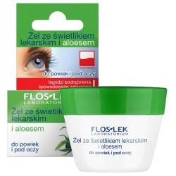 Żel ze świetlikiem lekarskim i aloesem do powiek i pod oczy, poj 10 g.