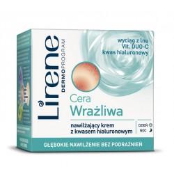 Cera wrażliwa - Nawilżający krem z kwasem hialuronowym na dzień i na noc, poj. 50 ml.