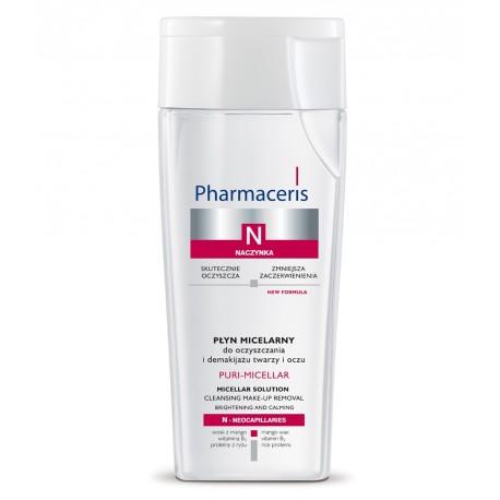Naczynka - PŁYN MICELARNY do oczyszczania i demakijażu twarzy i oczu, poj. 200 ml.