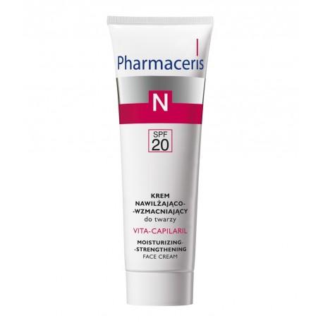Pharmaceris N, Naczynka - krem nawilżająco-wzmacniający do twarzy SPF20, poj. 50 ml.