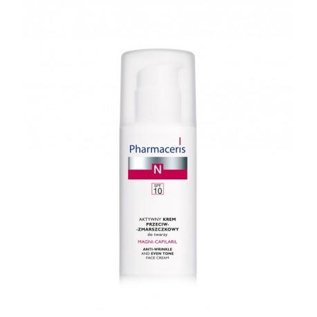 Naczynka - Aktywny krem przeciwzmarszczkowy do twarzy SPF10, poj. 50 ml.