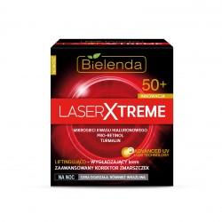 Laser Xtreme - Liftingująco – wygładzający krem na noc 50+, poj. 50 ml.
