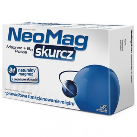 NeoMag Skurcz, tabletki, 50 szt.