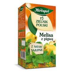 Zielnik Polski - Melisa z pigwą, poj. 20 saszetek x 1,75 g.