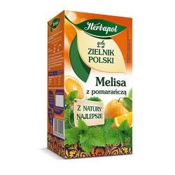 Zielnik Polski - Melisa z pomarańczą, poj. 20 saszetek x 1,75 g.