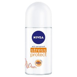 Nivea Stress Protect 48h - antyperspirant, roll-on, poj. 50 ml.