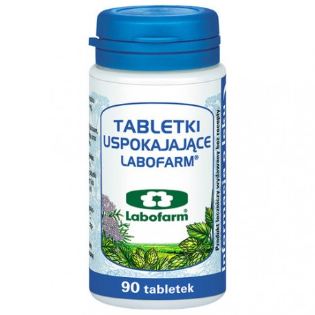 Labofarm - tabletki uspokajające, poj. 90 tabletek