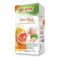 SLim Plus anti yo-yo - herbatka wspomagająca odchudzanie, poj. 20 saszetek x 2 g.