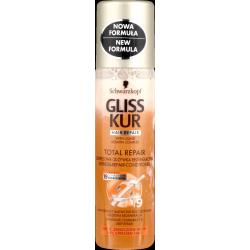 Gliss Kur Total Repair - ekspresowa odżywka regenerująca do włosów, poj. 200 ml.
