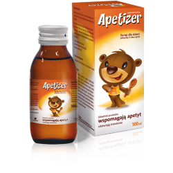 Apetizer Junior - syrop, poj. 100 ml.