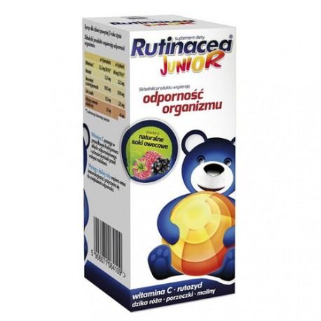 Rutinacea Junior - syrop, naturalne soki owocowe, poj. 100 ml.