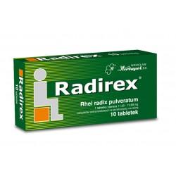 Radirex - tabletki na zaparcia, 10 tabletek