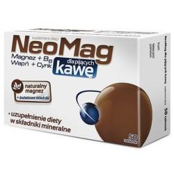 NeoMag dla pijących kawę, tabletki, 50 sztuk