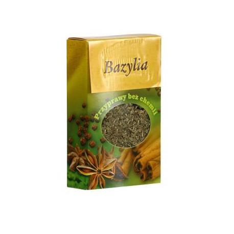 Bazylia - bez glutenu (Przyprawy bez chemii), poj. 25 g
