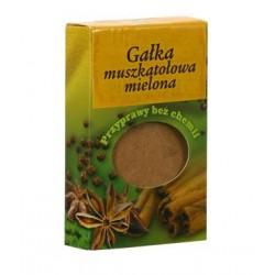 Gałka muszkatołowa mielona - Przyprawy bez chemii, poj. 30 g.