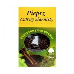 Pieprz czarny ziarnisty - przyprawy bez chemii, poj. 50 g