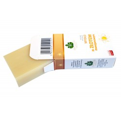 Naturalne Mydło ze złotem monojonowym 100% roślinne, 100 g