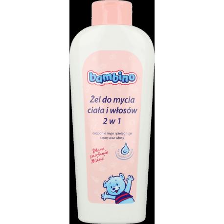 Bambino - żel do mycia ciała i włosów 2w1, poj. 400 ml