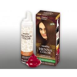 Henna Color - pianka koloryzująca do włosów No 14, kasztan