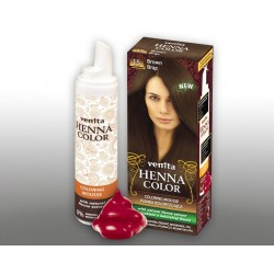 Henna Color - pianka koloryzująca do włosów No 15, brąz