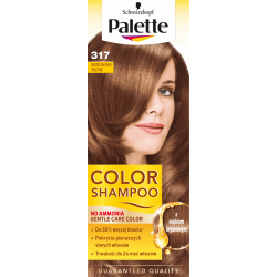 Palette Color Shampoo - szampon koloryzujący bez amoniaku, nr 317 Orzechowy Blond