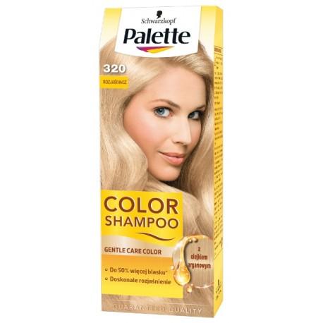 Palette Color Shampoo - szampon koloryzujący bez amoniaku, nr 320 Rozjaśniacz