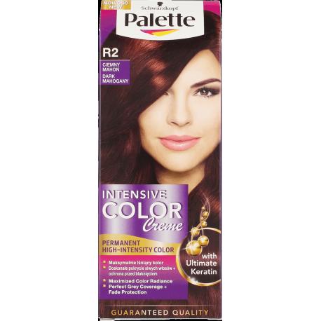 Palette Intensive Color Creme - krem koloryzujący, R2 Ciemny Mahoń