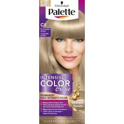 Palette Intensive Color Creme - krem koloryzujący, C8 Platynowy Blond
