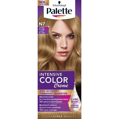 Palette Intensive Color Creme - krem koloryzujący, N7 Jasny Blond