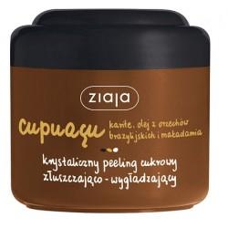 Cupuaçu - krystaliczny peeling cukrowy złuszczająco-wygładzający, poj. 200 ml.