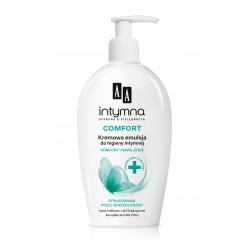 AA Intymna - COMFORT, kremowa emulsja do higieny intymnej, poj. 300 ml.