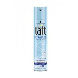 Taft Ultra Pure - supermocny lakier do włosów, poj. 250 ml.