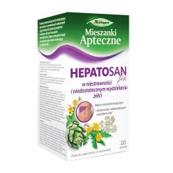 HEPATOSAN fix - w niestrawności i niedostatecznym wydzielaniu żółci, poj. 20 saszetek x 2 g.