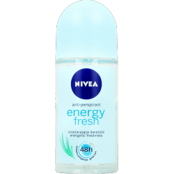 Nivea Energy Fresh 48h - antyperspirant, roll-on, poj. 50 ml